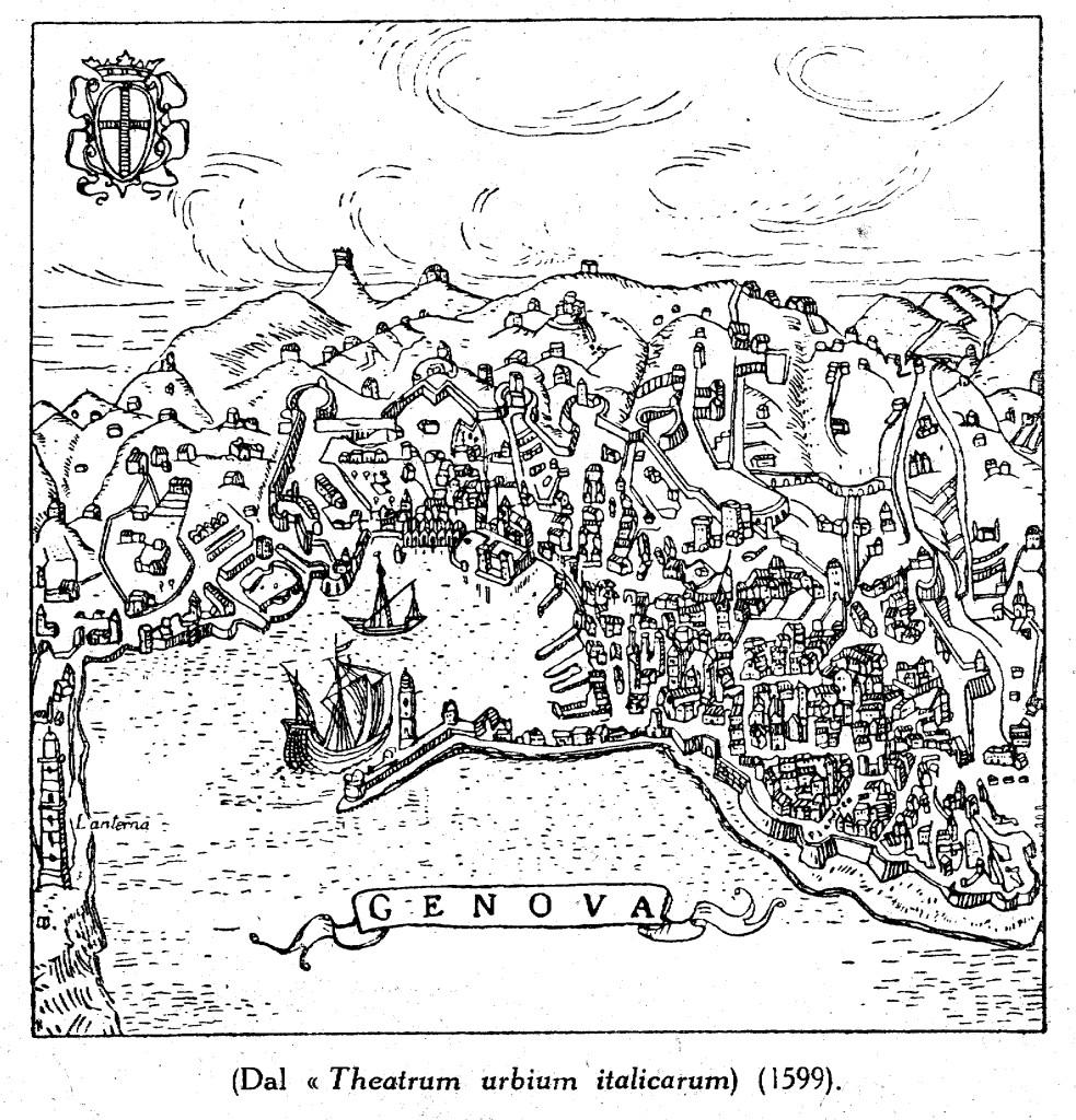 1599 THEATRUM URBIUM ITAL