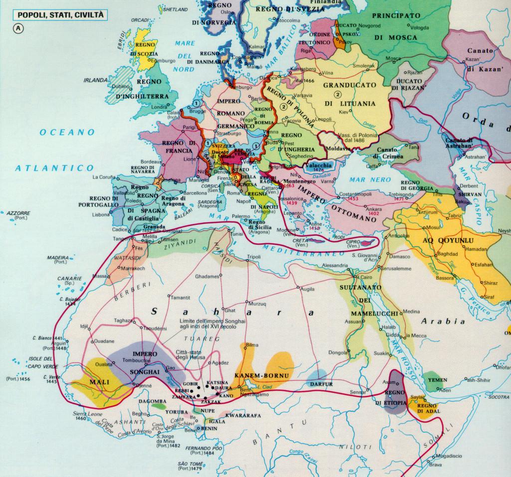 1490 EUROPA-AFRICA TCI62