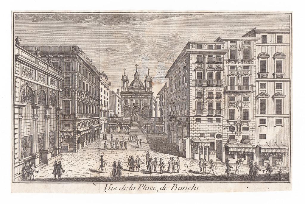 Vue de la Place de Banchi.