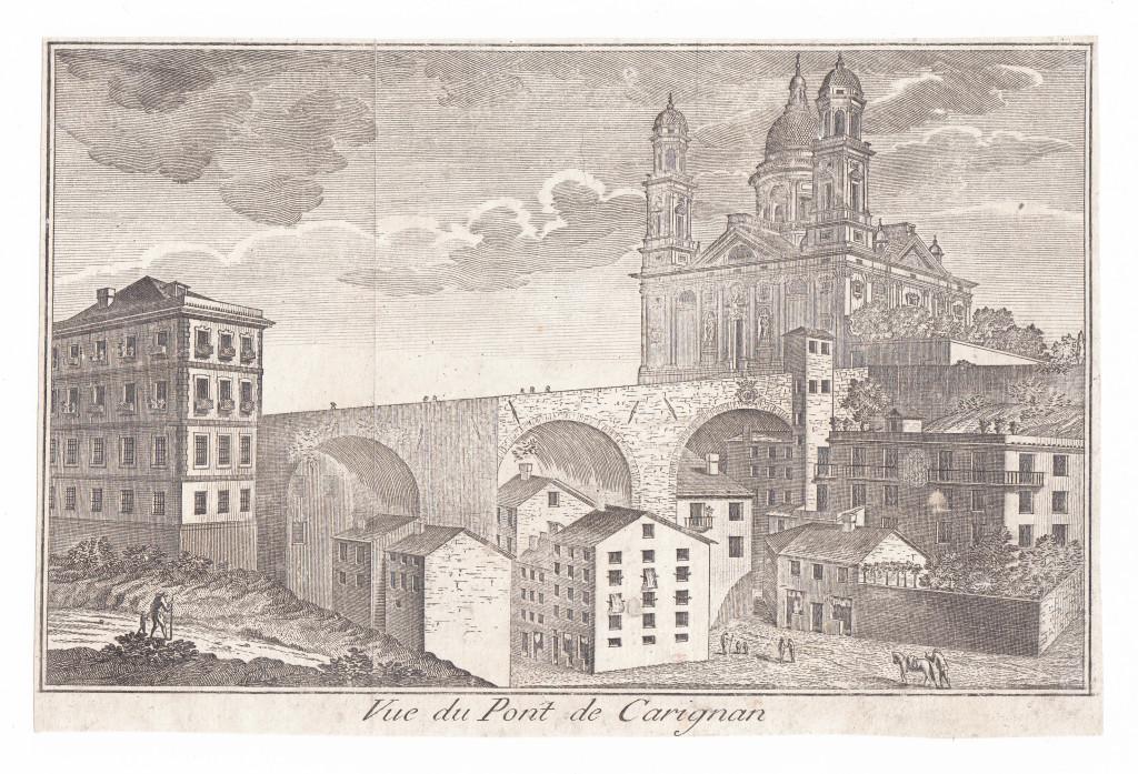 Vue du Pont de Carignan.