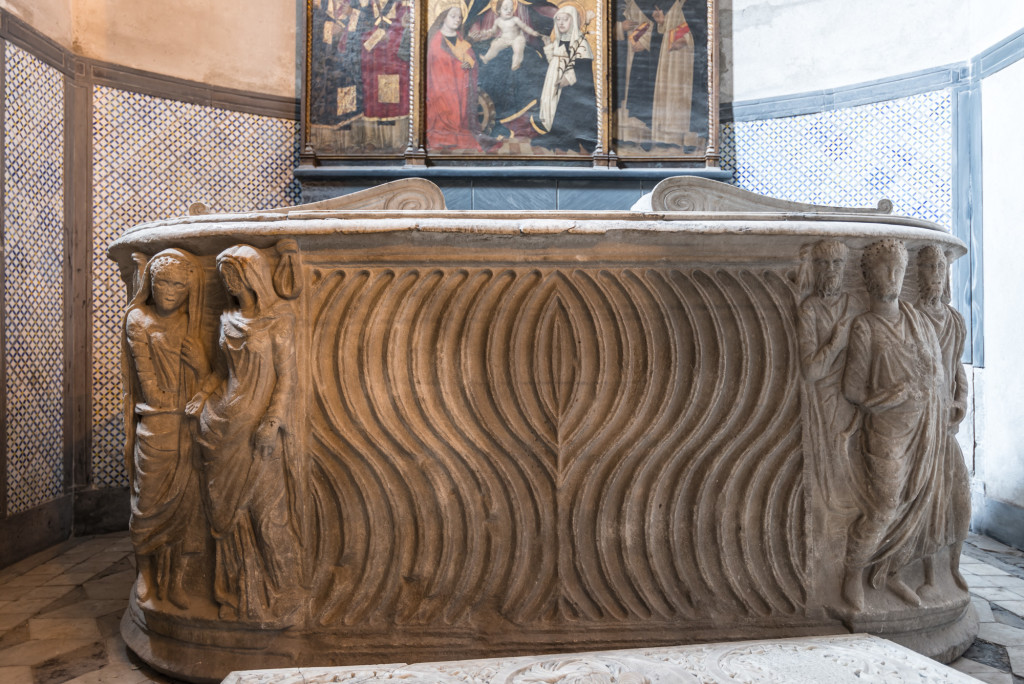 sarcofgo santa Maria di Castello