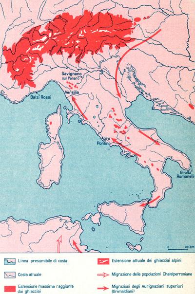 Italia nel periodo glaciale
