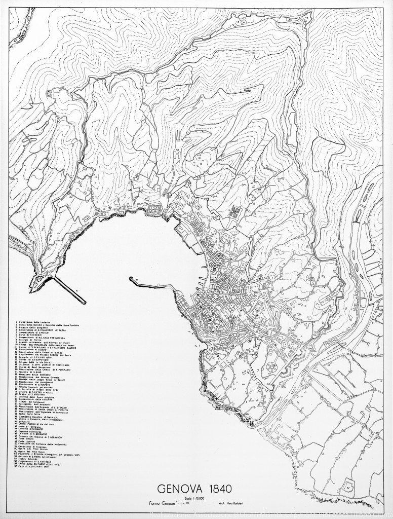 1840 MAPPA + LEGENDA