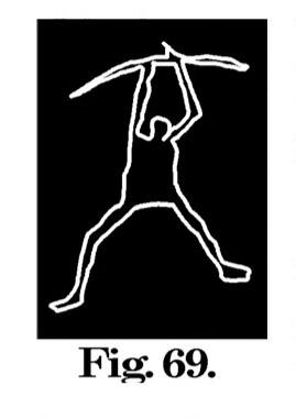 Fig. 69. Immagine di guerriero. Fontanalba. Misura circa m. 0,075 (Bicknell).